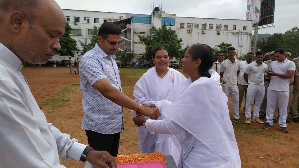 Raksha Bhandhan Celebrations @ Police Grounds