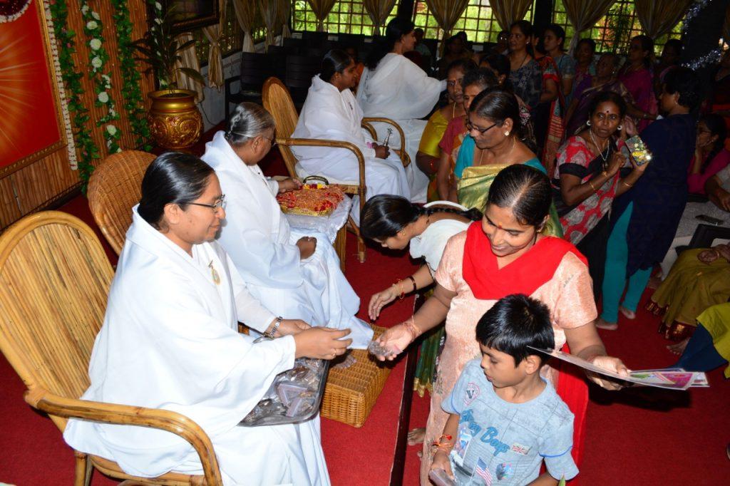 Raksha Bhandhan Celebrations @ Dr Manthena Satyanarayana Raju Arogyalayam , Vijayawada