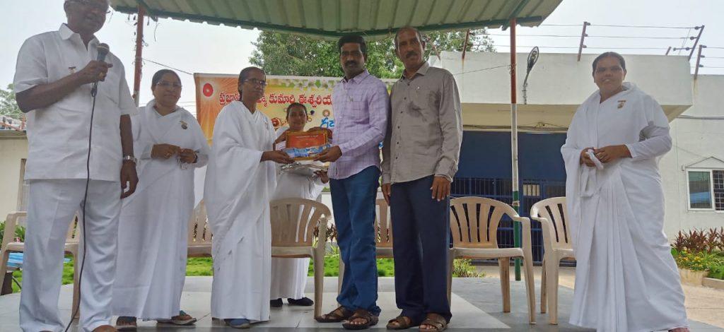 Raksha Bhandhan celebrations @ Vijyawada Sub Jail
