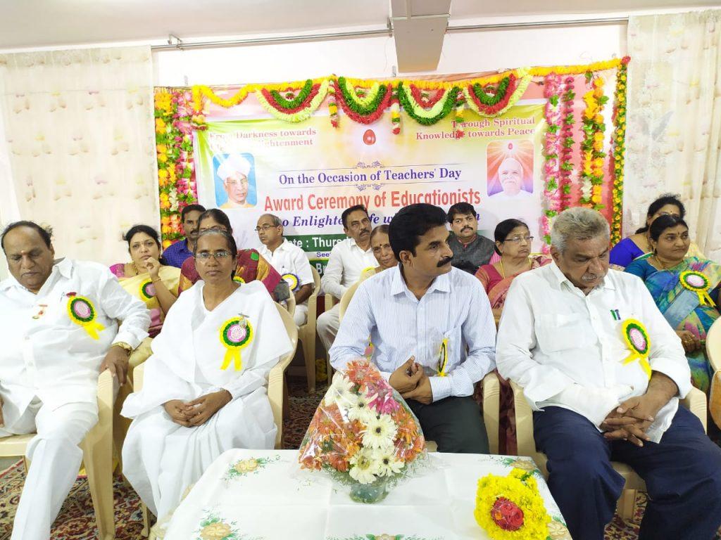 Teachers Day celebrations on 5th September 2019 at sitarampiram center